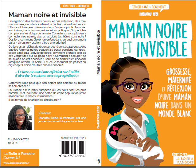 maman noire et invisible clumsy