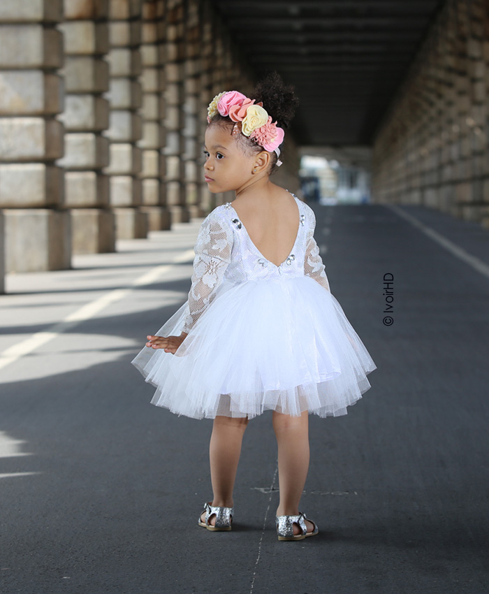 Mademoiselle blé robe tutu