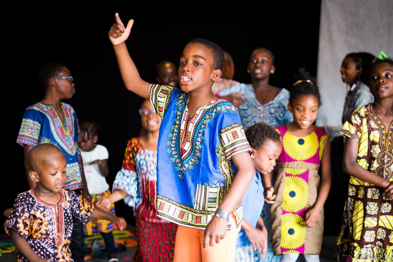 journée internationale de l'enfant africain AMAC-73