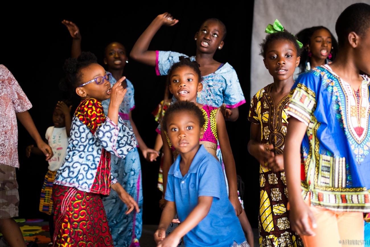 journée internationale de l'enfant africain AMAC-75