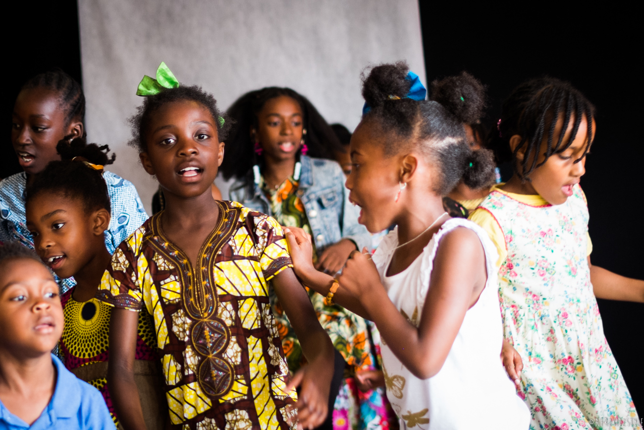 journée internationale de l'enfant africain AMAC-76